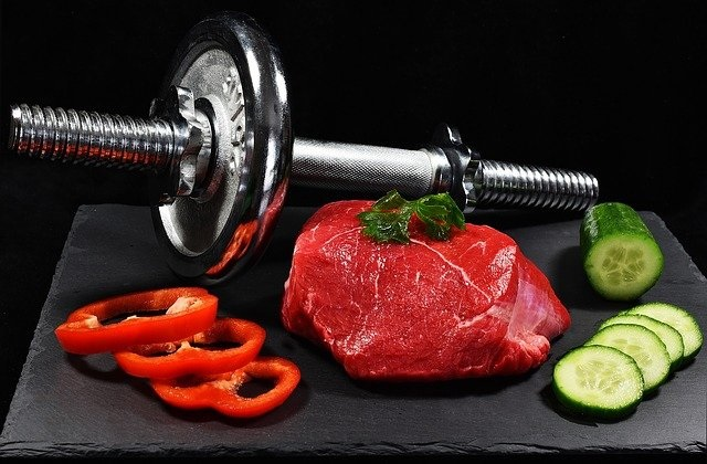 Mat för träning